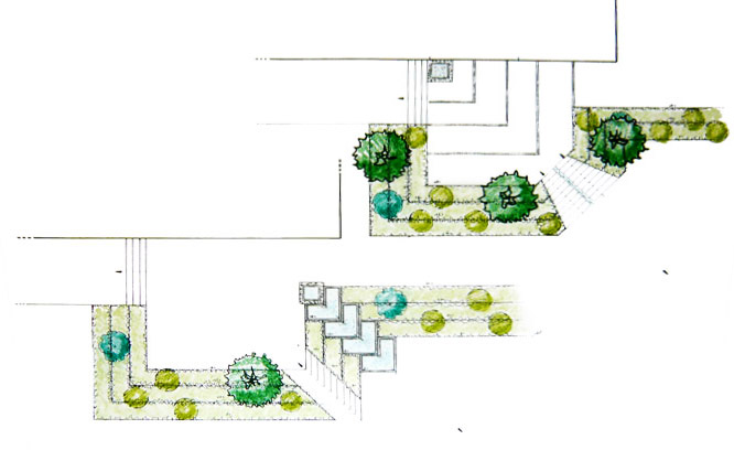 Green design for T architecture sarl